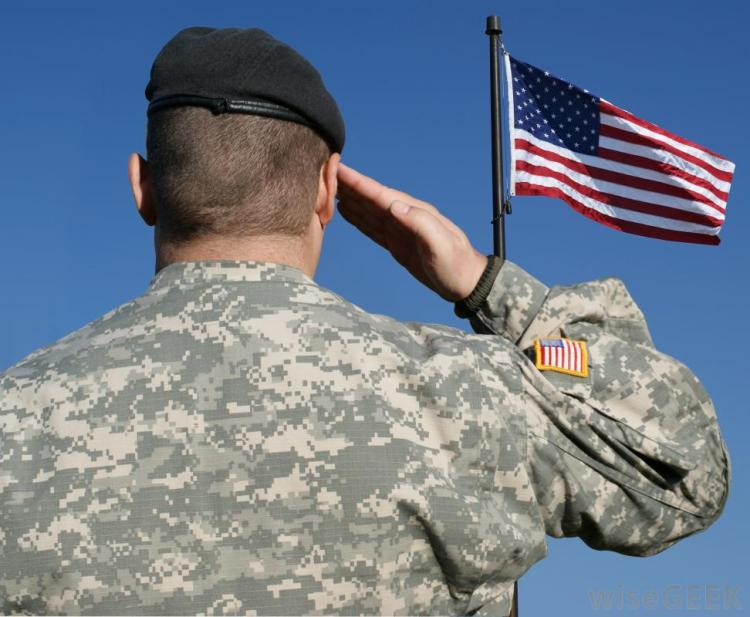 soldier-in-uniform-saluting-united-states-flag